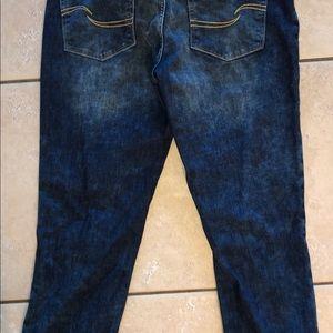 Levi's Jeans - Levi Modern Slim fit cuffed capri